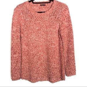 J. McLaughlin Open Knit Pullover Sweater